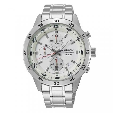ساعت مچی عقربه ای مردانه کلاسیک برند سیکو مدل SKS637P1