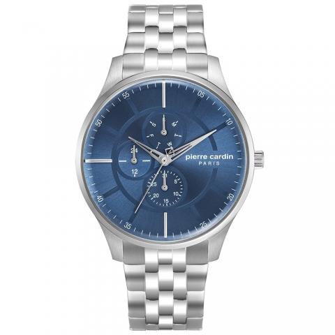 ساعت مچی عقربه ای مردانه کلاسیک برند پیرکاردین مدل PC902731F06