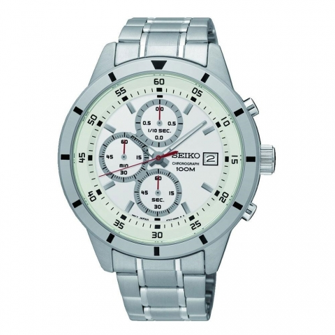 ساعت مچی عقربه ای مردانه کلاسیک برند سیکو مدل SKS557P1