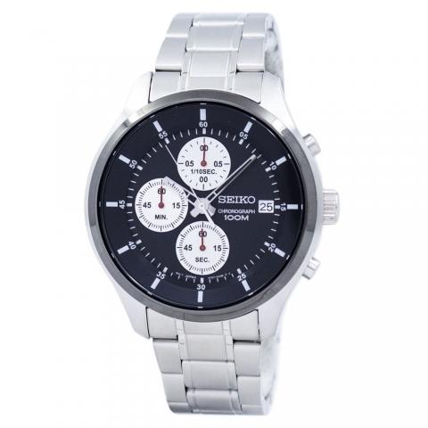 ساعت مچی عقربه ای مردانه کلاسیک برند سیکو مدل SKS545P1