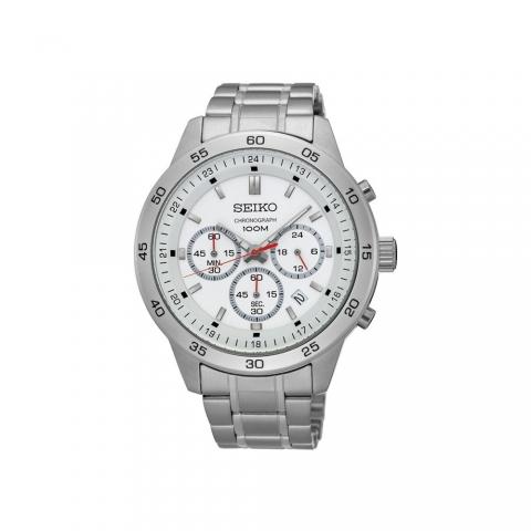 ساعت مچی عقربه ای مردانه کلاسیک برند سیکو مدل SKS515P1