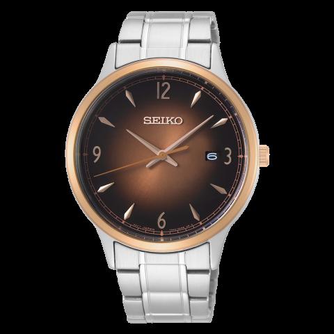 ساعت مچی عقربه ای مردانه کلاسیک برند سیکو مدل SGEH90P1