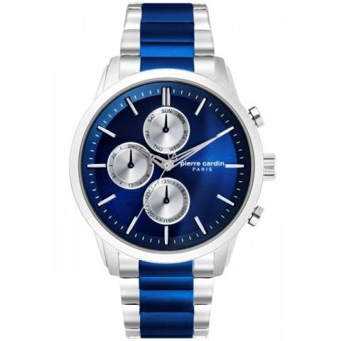 ساعت مچی عقربه ای مردانه کلاسیک برند پیرکاردین مدل PC902741F08