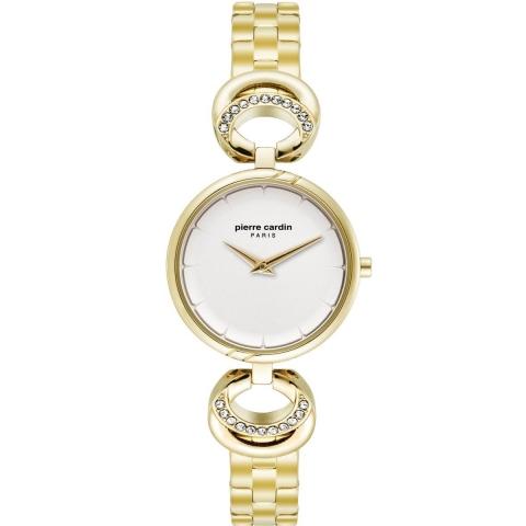 ساعت مچی عقربه ای زنانه کلاسیک برند پیرکاردین مدل PC902752F06
