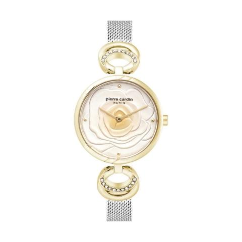 ساعت مچی عقربه ای زنانه کلاسیک برند پیرکاردین مدل PC902762F03