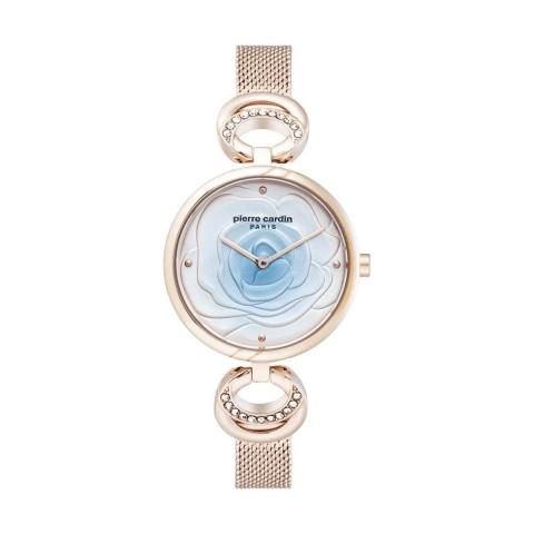 ساعت مچی عقربه ای زنانه کلاسیک برند پیرکاردین مدل PC902762F04