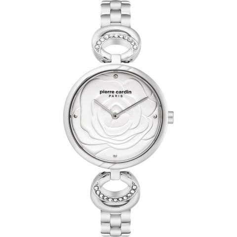 ساعت مچی عقربه ای زنانه کلاسیک برند پیرکاردین مدل PC902762F05