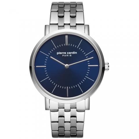 ساعت مچی عقربه ای مردانه کلاسیک برند پیرکاردین مدل PC902621F06