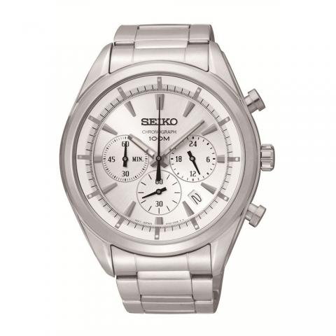 ساعت مچی عقربه ای مردانه کلاسیک برند سیکو مدل SSB085P1