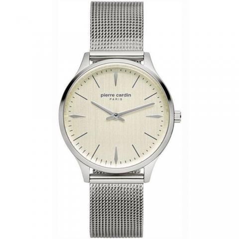 ساعت مچی عقربه ای زنانه کلاسیک برند پیرکاردین مدل PC902282F13