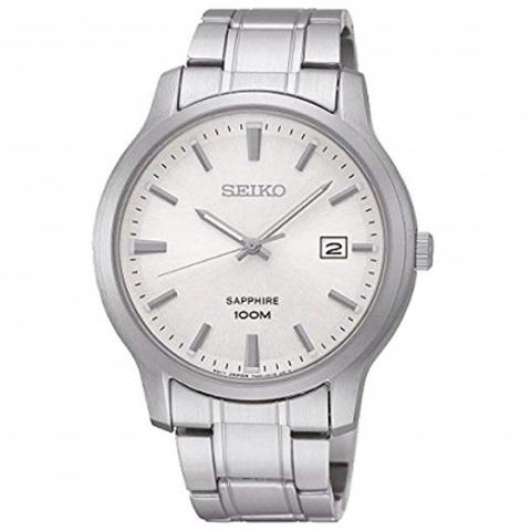 ساعت مچی عقربه ای مردانه کلاسیک برند سیکو مدل SGEH39P1