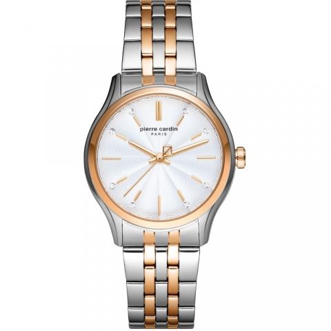 ساعت مچی عقربه ای زنانه کلاسیک برند پیرکاردین مدل PC902432F06