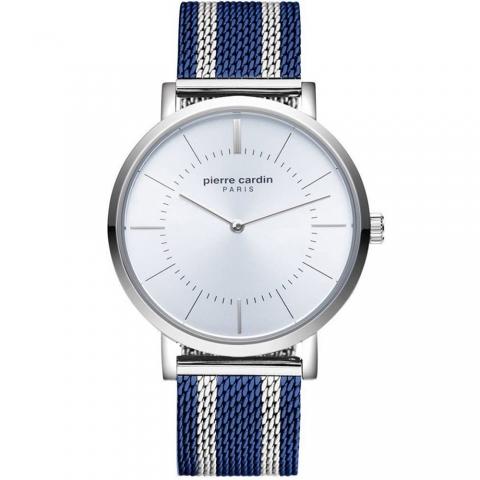 ساعت مچی عقربه ای مردانه کلاسیک برند پیرکاردین مدل PC902621F13