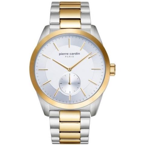 ساعت مچی عقربه ای مردانه کلاسیک برند پیرکاردین مدل PC902451F07