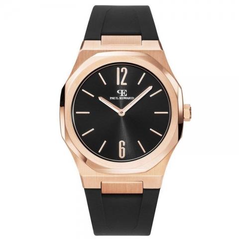 ساعت مچی عقربه ای مردانه کلاسیک برند پائول ادوارد مدل PE001S2