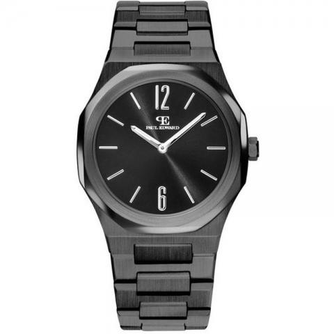 ساعت مچی عقربه ای مردانه کلاسیک برند پائول ادوارد مدل PE001A4