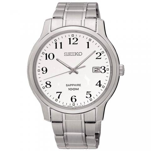 ساعت مچی عقربه ای مردانه کلاسیک برند سیکو مدل SGEH67P1