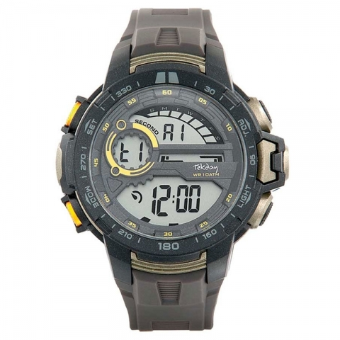 ساعت مچی دیجیتال مردانه اسپرت برند تِک دی مدل 655915