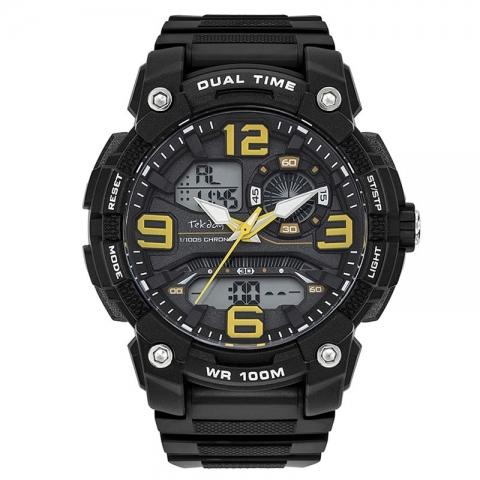 ساعت مچی عقربه ای - دیجیتال مردانه اسپرت برند تِک دی مدل 655972