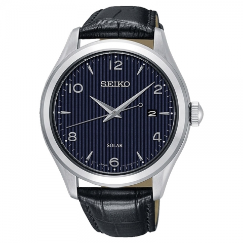 ساعت مچی عقربه ای مردانه کلاسیک برند سیکو مدل SNE491P1