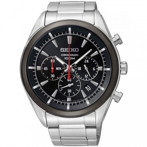 ساعت مچی عقربه ای مردانه اسپرت برند سیکو مدل SSB089P1