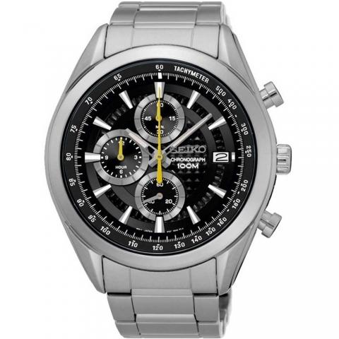 ساعت مچی عقربه ای مردانه اسپرت برند سیکو مدل SSB175P1