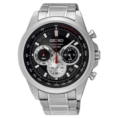 ساعت مچی عقربه ای مردانه کلاسیک برند سیکو مدل SSB241P1