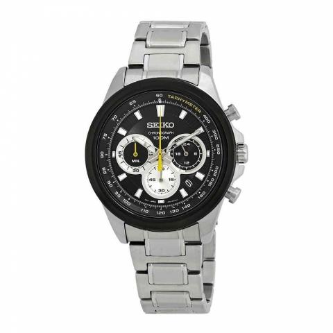 ساعت مچی عقربه ای مردانه کلاسیک برند سیکو مدل SSB247P1