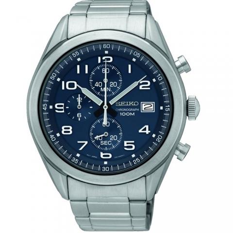 ساعت مچی عقربه ای مردانه کلاسیک برند سیکو مدل SSB267P1