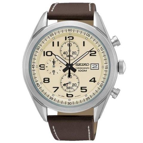 ساعت مچی عقربه ای مردانه کلاسیک برند سیکو مدل SSB273P1