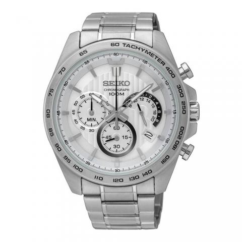 ساعت مچی عقربه ای مردانه کلاسیک برند سیکو مدل SSB297P1