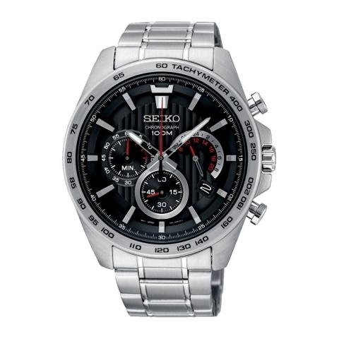 ساعت مچی عقربه ای مردانه کلاسیک برند سیکو مدل SSB299P1