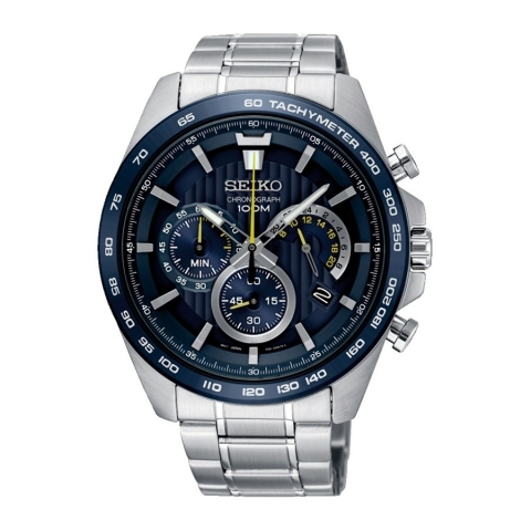 ساعت مچی عقربه ای مردانه کلاسیک برند سیکو مدل SSB301P1