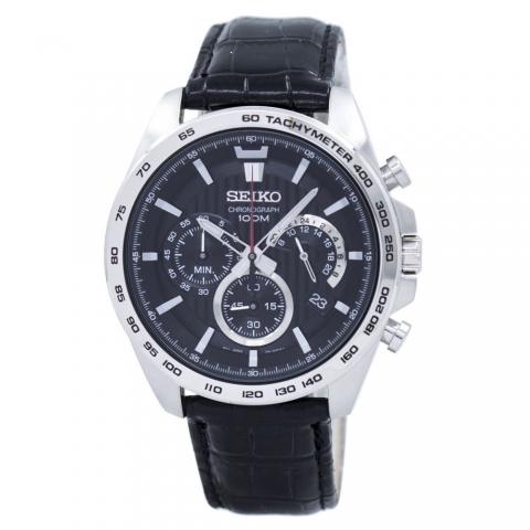 ساعت مچی عقربه ای مردانه کلاسیک برند سیکو مدل SSB305P1