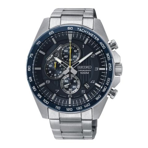 ساعت مچی عقربه ای مردانه کلاسیک برند سیکو مدل SSB321P1