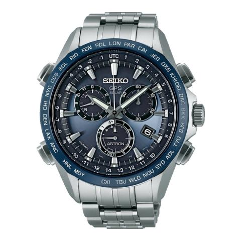 ساعت مچی عقربه ای مردانه اسپرت برند سیکو مدل SSE005J1