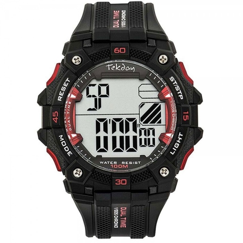 ساعت مچی دیجیتال مردانه اسپرت برند تِک دی مدل 654020