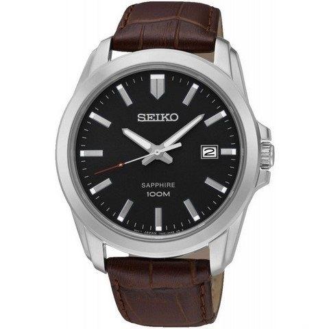 ساعت مچی عقربه ای مردانه کلاسیک برند سیکو مدل SGEH49P2