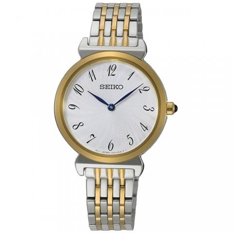 ساعت مچی عقربه ای زنانه کلاسیک برند سیکو مدل SFQ800P1