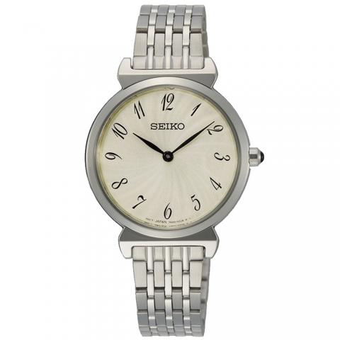ساعت مچی عقربه ای زنانه کلاسیک برند سیکو مدل SFQ801P1