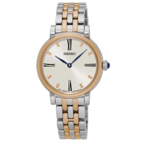 ساعت مچی عقربه ای زنانه کلاسیک برند سیکو مدل SFQ816P1