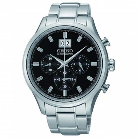 ساعت مچی عقربه ای مردانه کلاسیک برند سیکو مدل SPC083P1