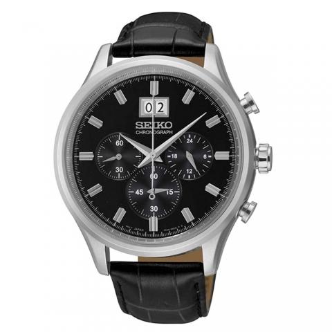 ساعت مچی عقربه ای مردانه کلاسیک برند سیکو مدل SPC083P2