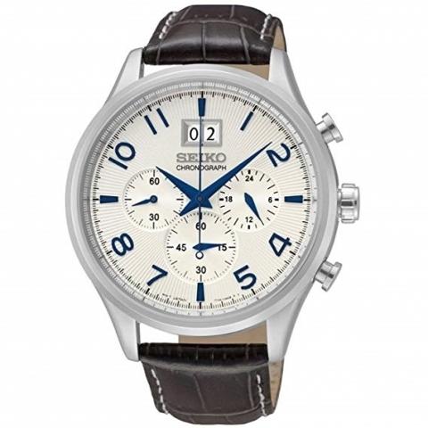 ساعت مچی عقربه ای مردانه کلاسیک برند سیکو مدل SPC155P1