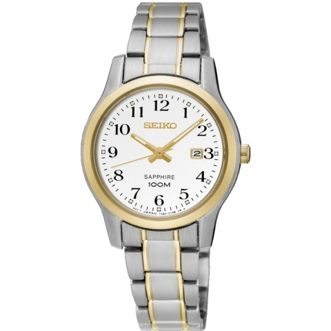 ساعت مچی عقربه ای زنانه کلاسیک برند سیکو مدل SXDG90P1