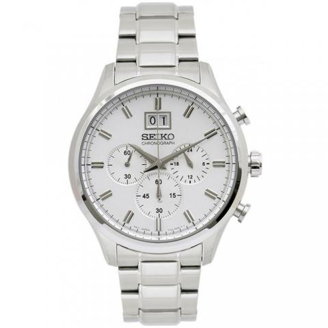 ساعت مچی عقربه ای مردانه کلاسیک برند سیکو مدل SPC079P1