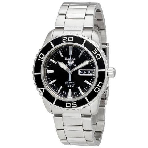 ساعت مچی عقربه ای مردانه اسپرت برند سیکو مدل SNZH55J1