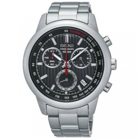ساعت مچی عقربه ای مردانه کلاسیک برند سیکو مدل SSB205P1