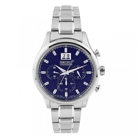 ساعت مچی عقربه ای مردانه کلاسیک برند سیکو مدل SPC081P1