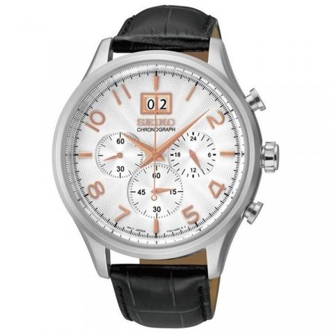ساعت مچی عقربه ای مردانه کلاسیک برند سیکو مدل SPC087P1